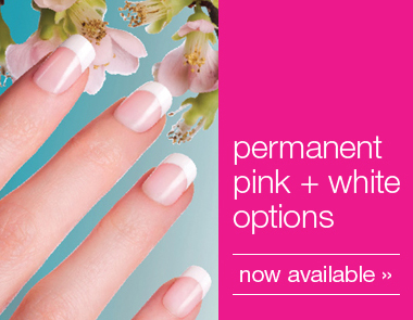 permanent pink and white options